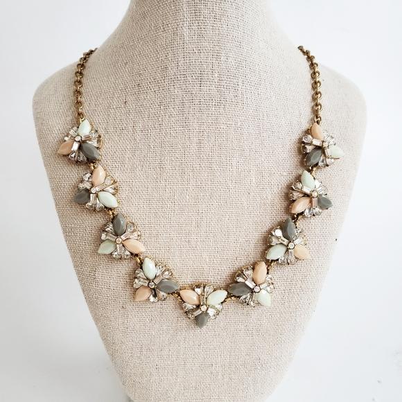 J. Crew Chunky Glittery Necklace